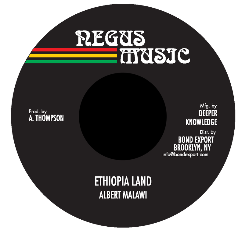 "Image of Albert Malawi - Ethiopia Land 7"" (Negus Music)"