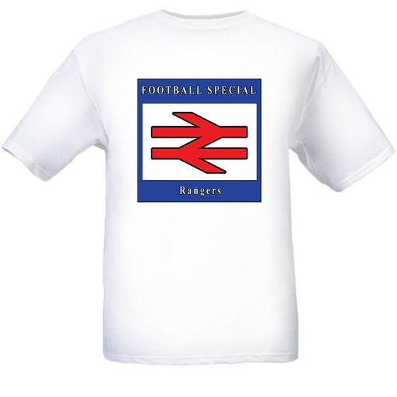 Image of Rangers Football Special T-shirt.
