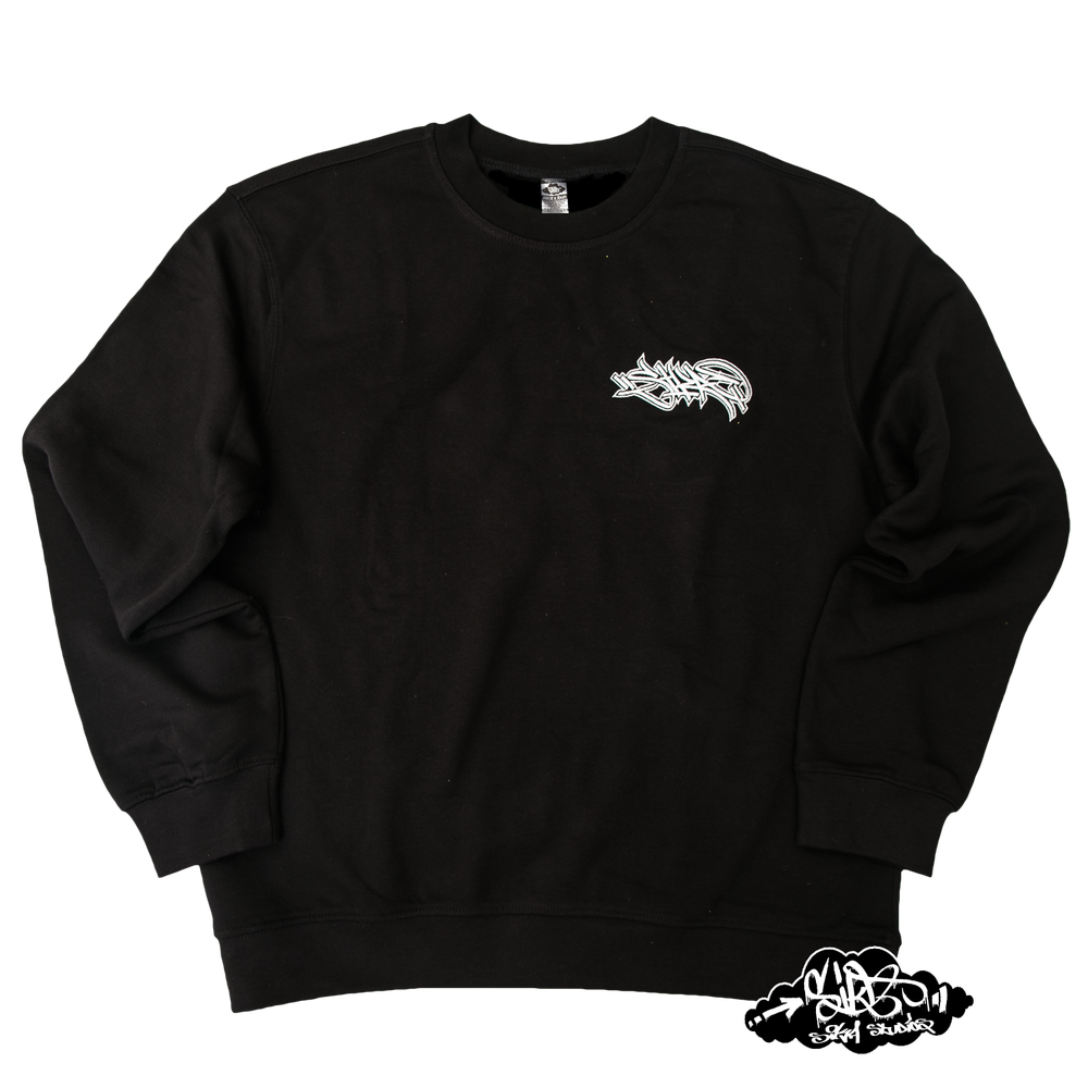 SIKA x ZENAL embroidered handstyle premium sweater