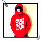 Image of Red hoody jumper