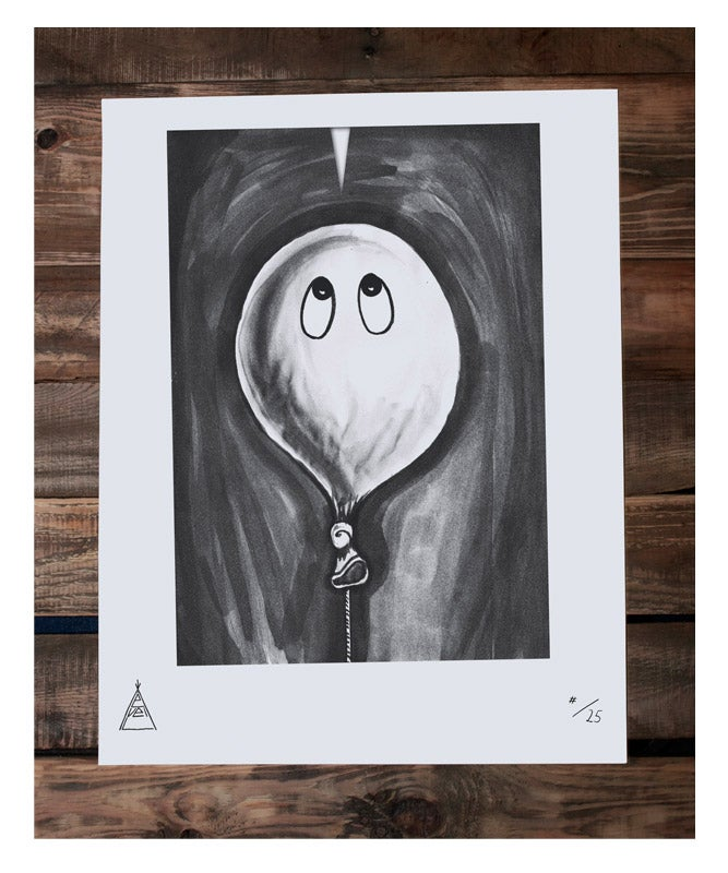 "Image of Limited Screenprint Poster ""Balloon"""