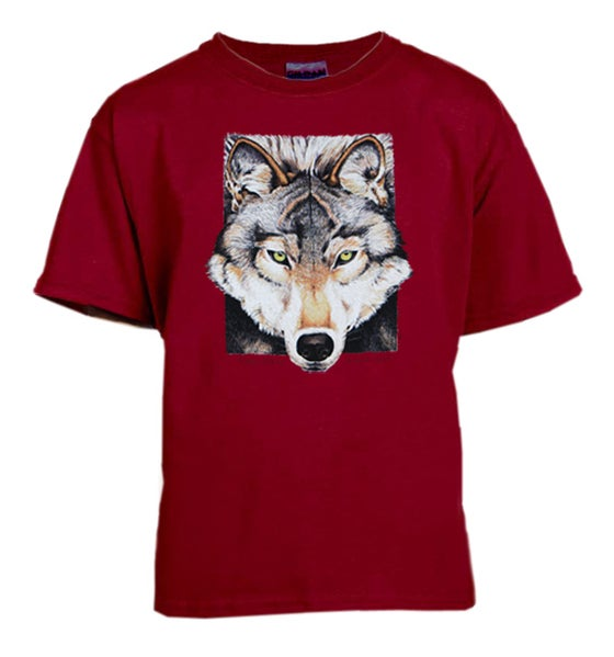 Image of Gray Wolf youth t-shirt
