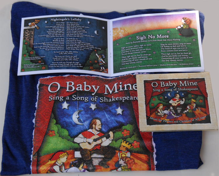 Image of O BABY MINE: Sing a Song of Shakespeare Gift Box