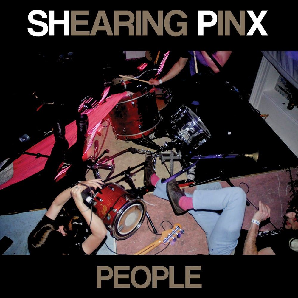 "Image of Shearing Pinx - People 12"" LP (comes w/ download)"
