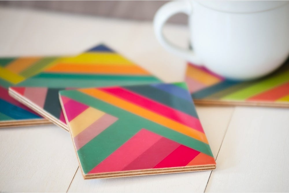 Image of Stripes Coasters