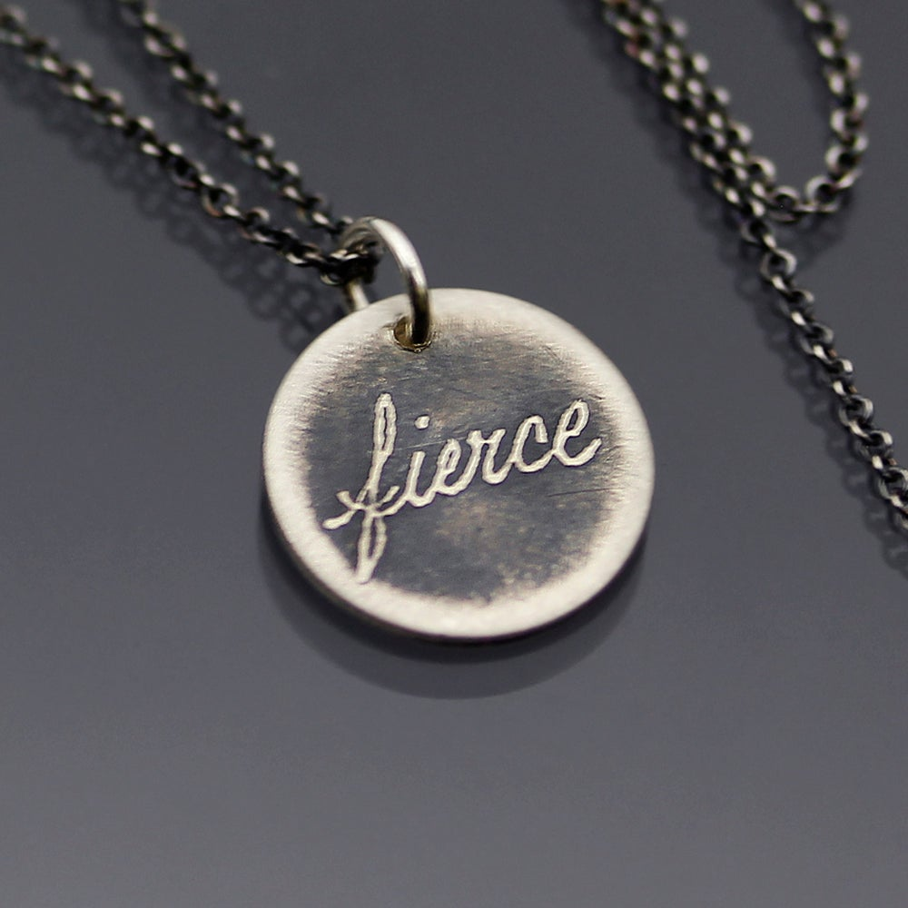 Image of Tiny Fierce Necklace