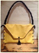 Image of Handbag - 'Yellow Skulls & Roses'