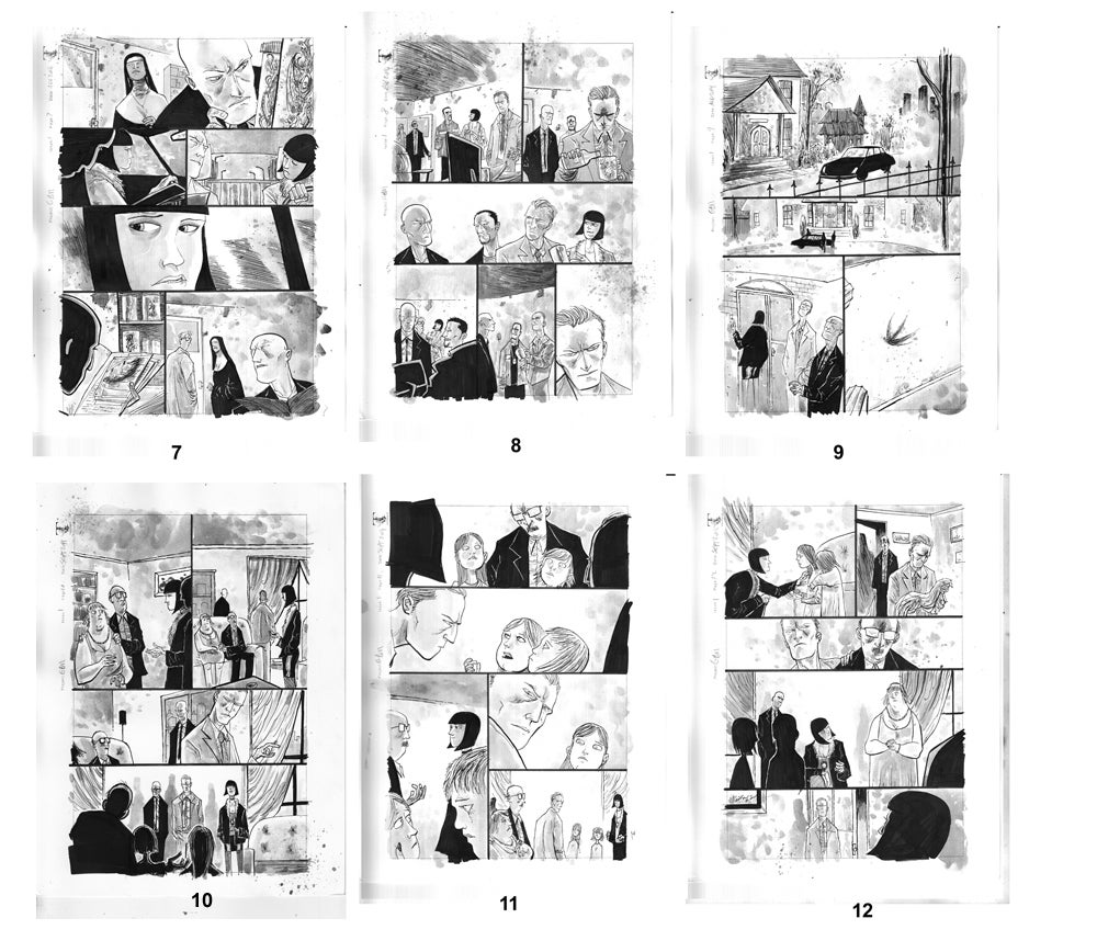 Image of GOTHAM BY MIDNIGHT #1 ORIGINAL PAGES
