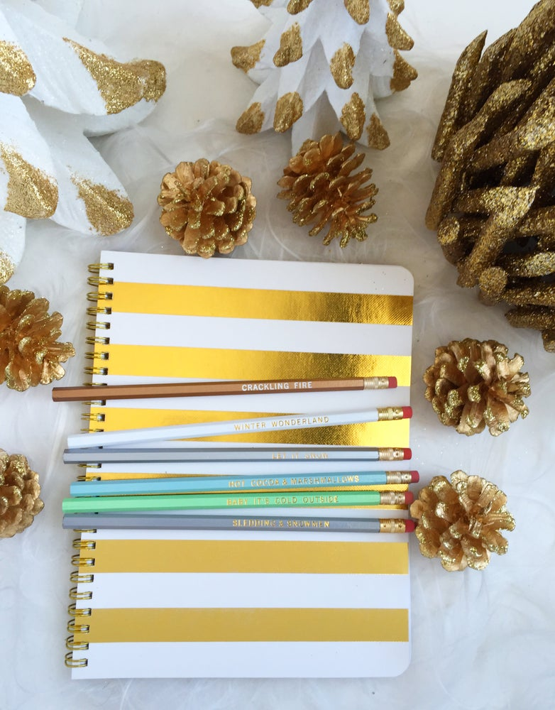 Image of Pencil Set :: Winter Wonderland
