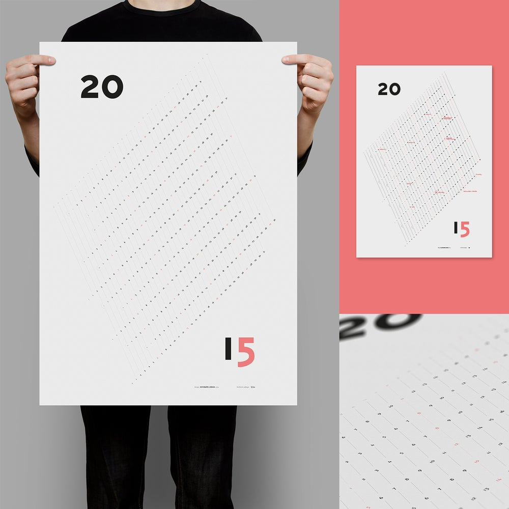 Image of Kalender Poster 2015