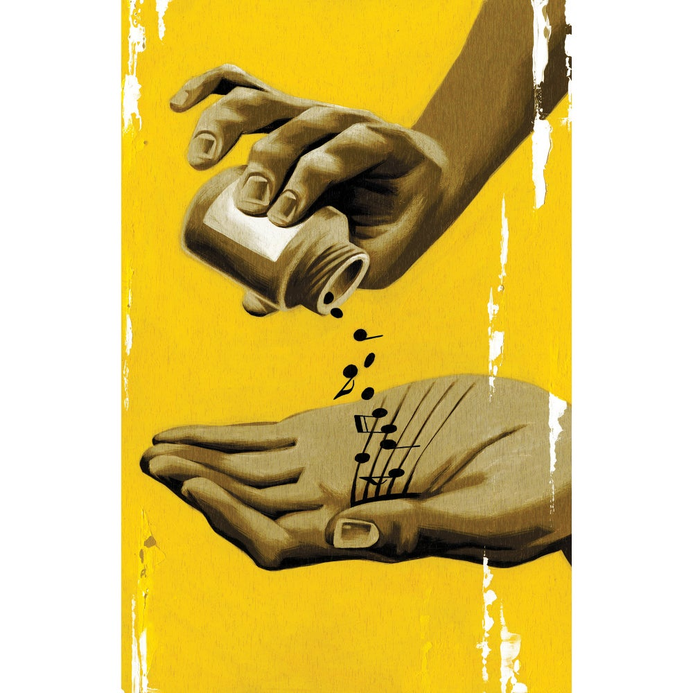 Image of Musical Healing -Giclee Print