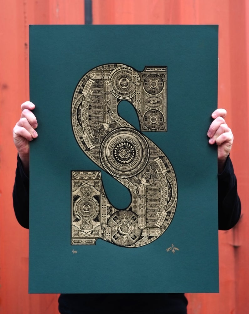 Image of The Illustrated Letter Project: 'S'