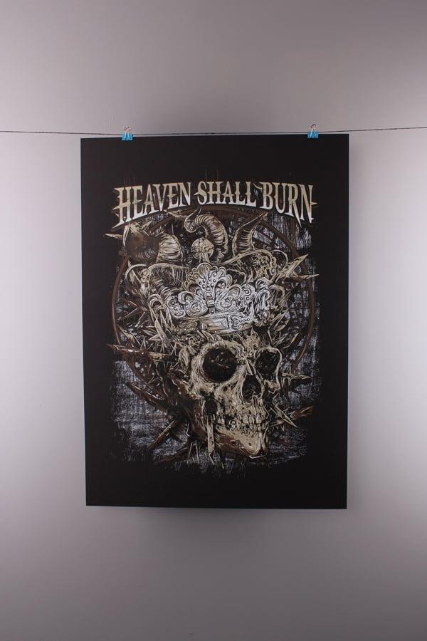 Image of Heaven Shall Burn - Crown Skull