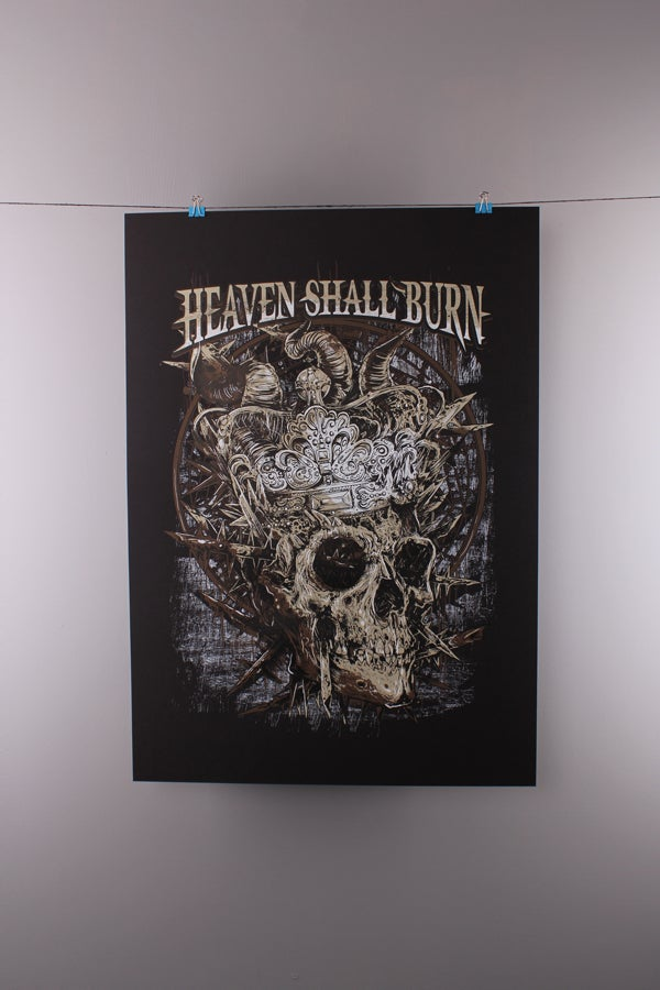 Image of Heaven Shall Burn - Crown Skull