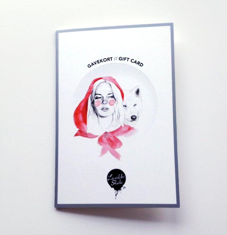 Image of Bruk gavekort / Use gift card