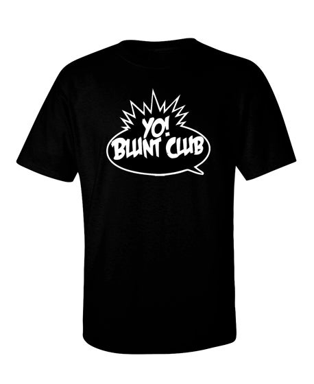 Image of BC - Yo! Logo Short Sleeve Black T-Shirt