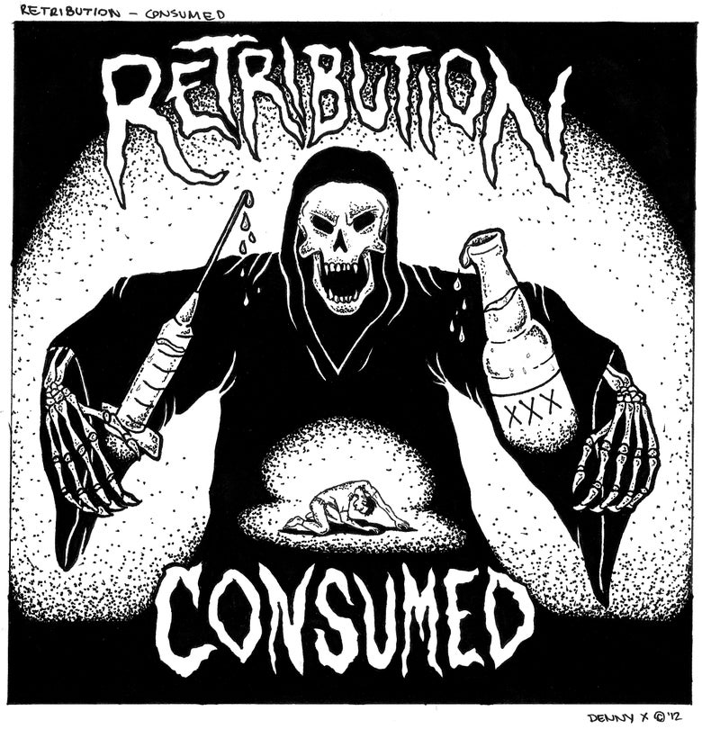 Image of Retribution - Consumed 7""
