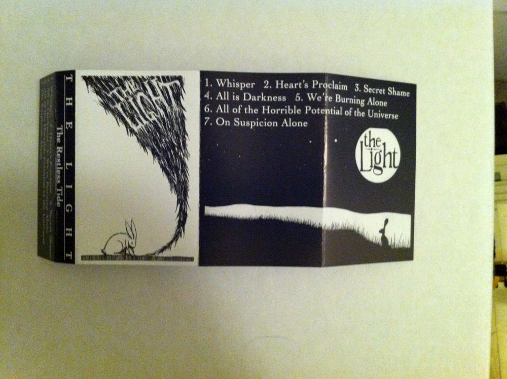 "Image of THE LIGHT ""THE RESTLESS TIDE"" CASSETTE"