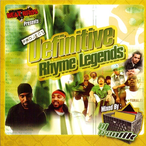 Image of DJ Frantik - Project Definitive Rhyme Legends