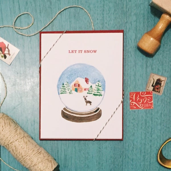 Image of Warm Wishes holiday card set