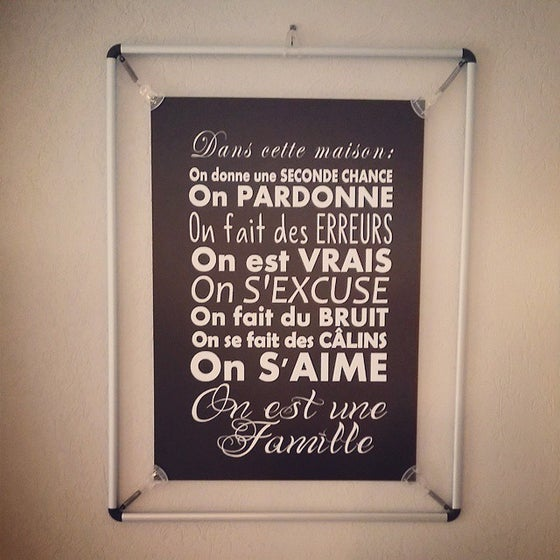 "Image of Affiche ""FAMILLE"" - Formats A3 ou A2"