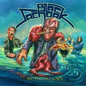 Image of Black Sachbak - No Pay No Gain LP (splattered vinyl / 180g black vinyl)