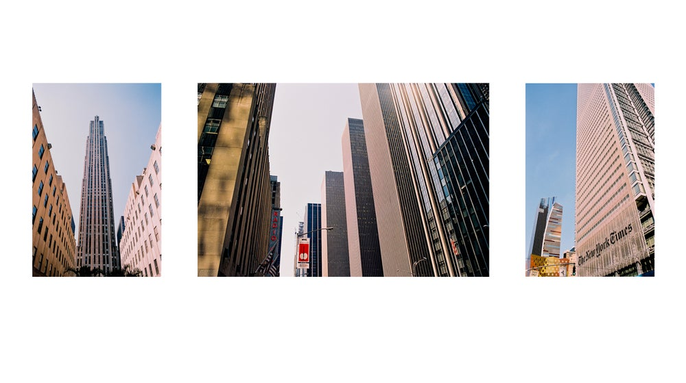 Image of TRYPTIQUE – Avenue of the Americas #1#2#3