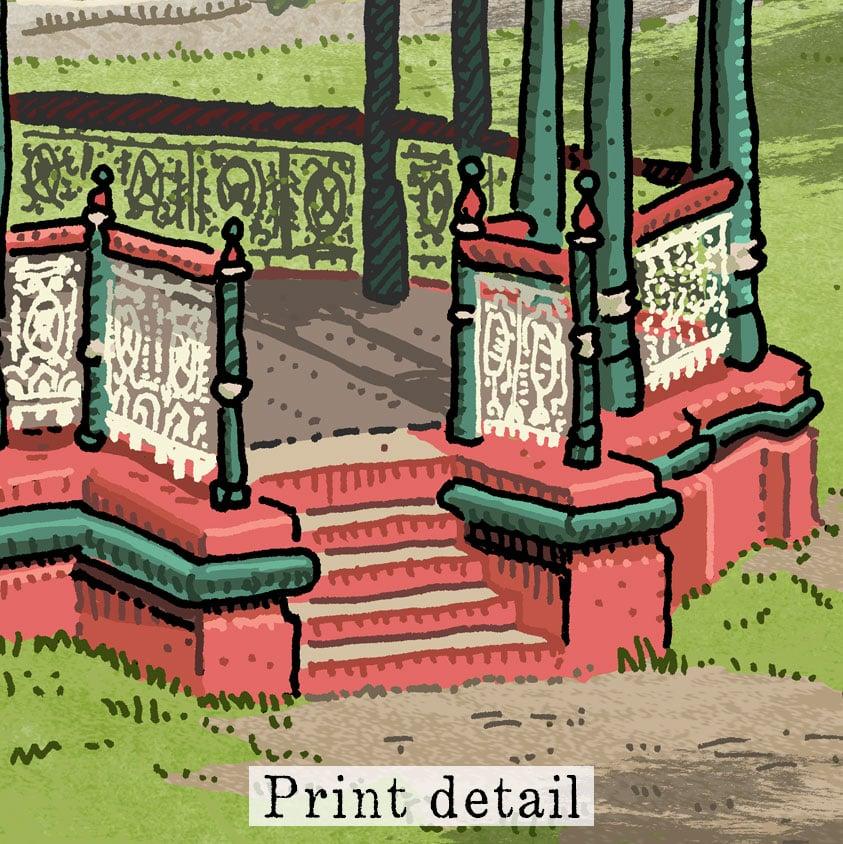 Image of King Edward Park Digital Print
