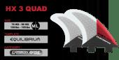 Image of HX 3 QUAD ~ Dual Tab ~