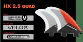 Image of HX2.5 Quad ~ Dual Tab ~