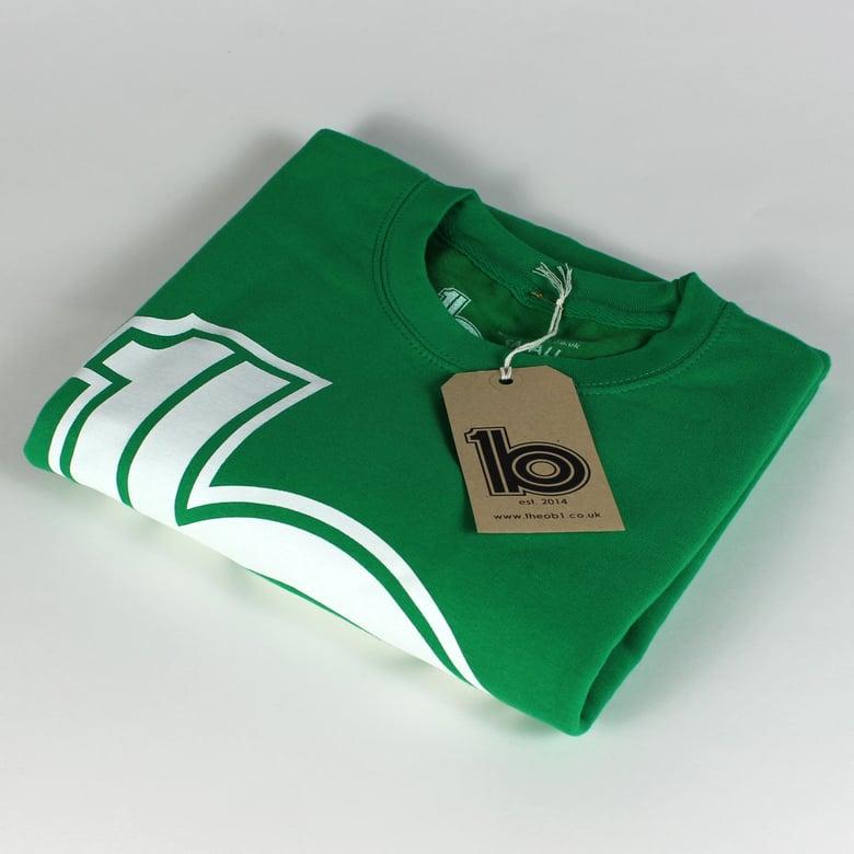 Image of Green Logo Sweat