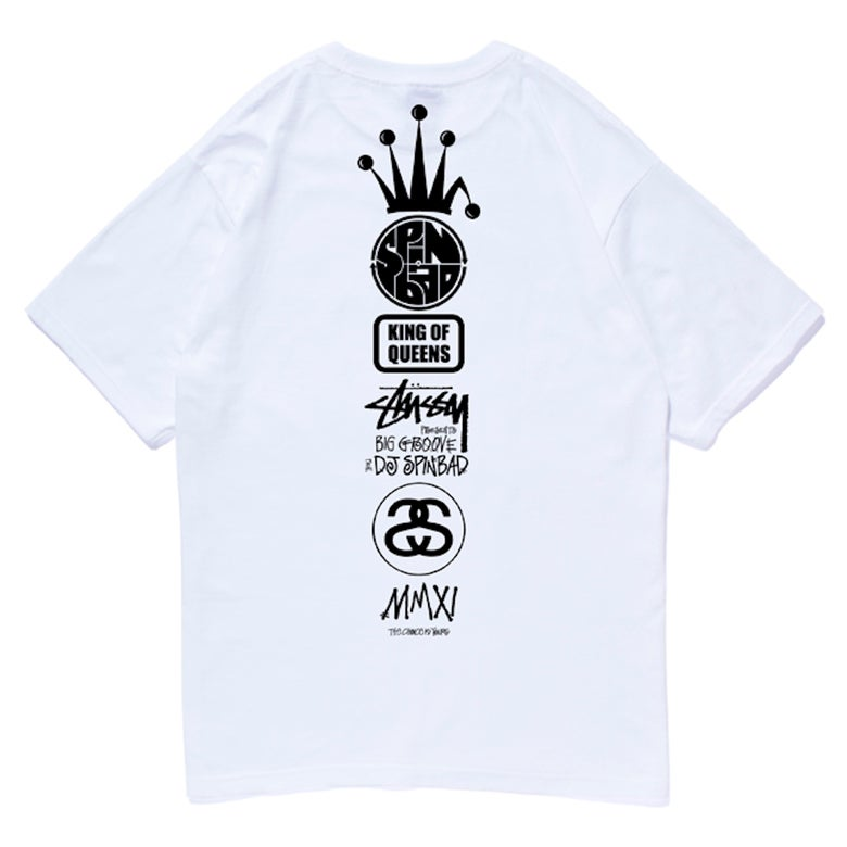 Image of Spinbad Limited Edition Stüssy Tee