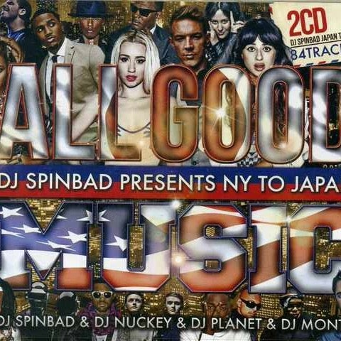 Image of ALL GOOD MUSIC CD (DJ Spinbad Presents NY To Japan)