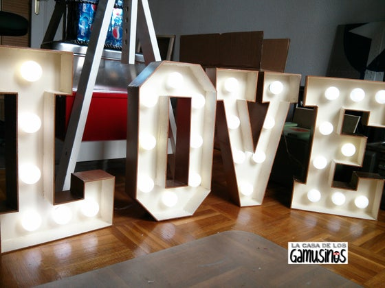 Image of LOVE IS IN THE AIR _MARQUEE LIGHT