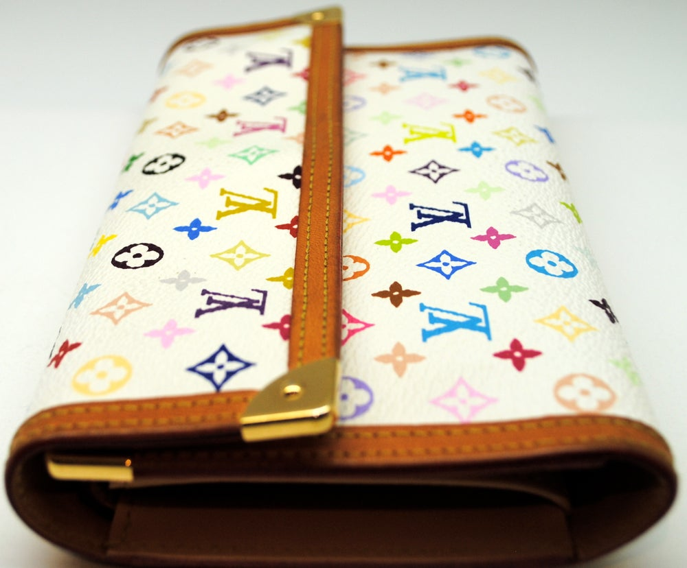 Image of Louis Vuitton Murakami Porte Tresor International Wallet