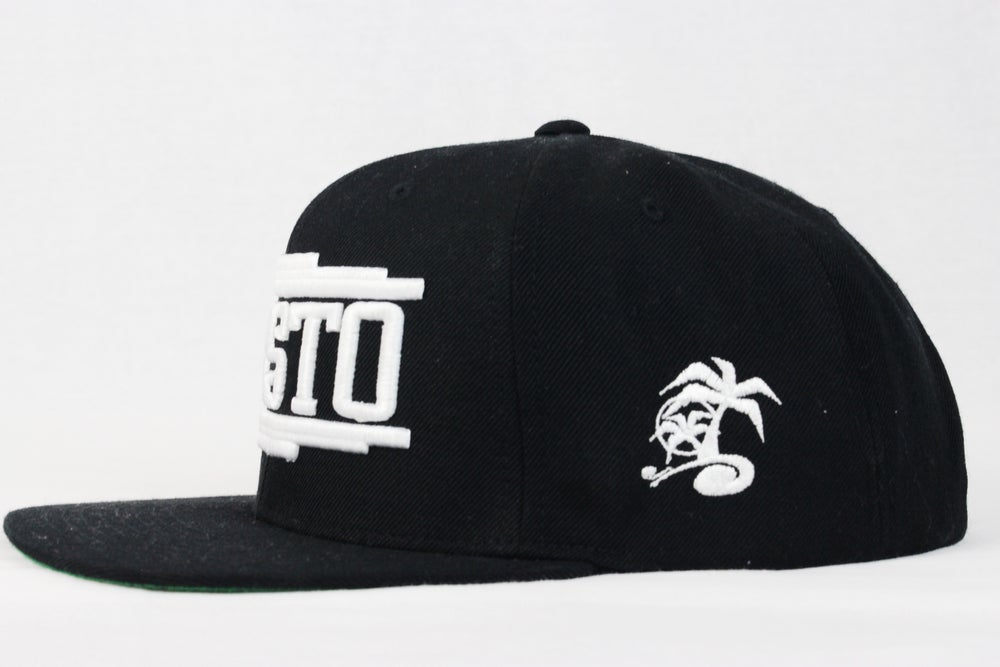 Image of Gusto Black Snap Back