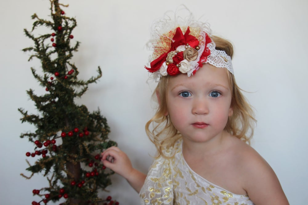 Image of Santa's Sleigh Ride Headband