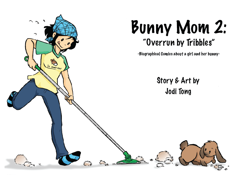 Image of Bunny Mom Issue 2: Overrun By Tribbles!