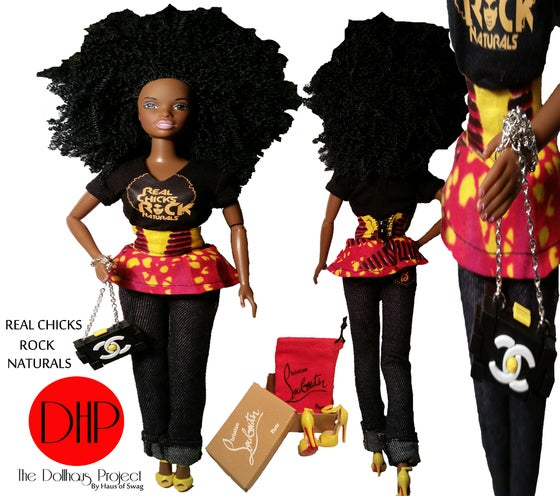 Image of Real Chicks Rock Naturals Fashion Doll