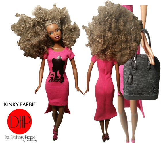 Image of Kinky Barbie Fashion Doll