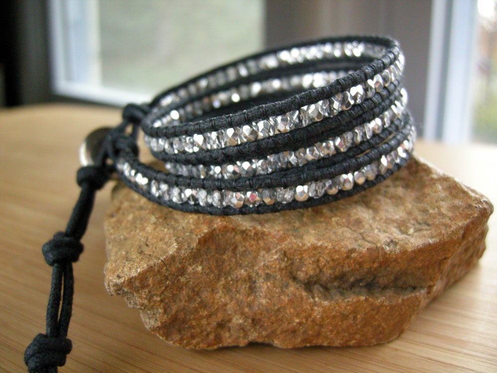 Image of Triple Cotton Wrap Bracelet