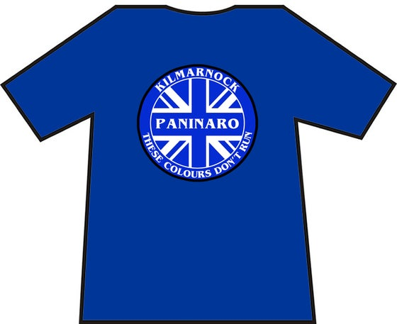 Image of Kilmarnock Pinanaro These Colours Don't Run Brand New T-Shirt