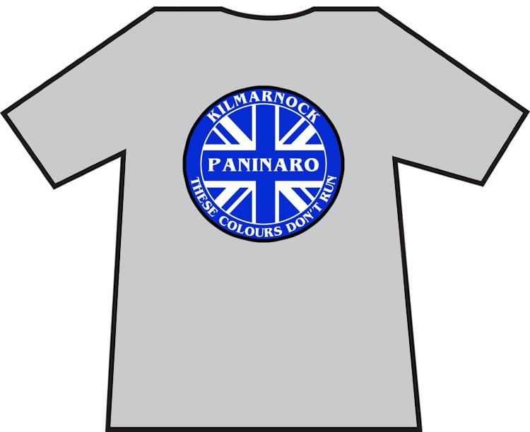 Image of Kilmarnock Pinanaro These Colours Don't Run Brand New T-Shirt