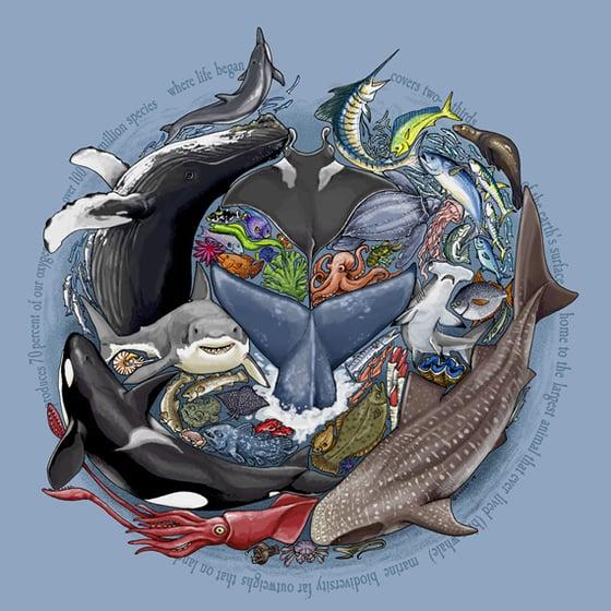 Image of Ocean Diversity print