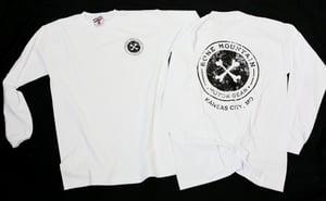 """Image of """"Kansas City"""" Long Sleeve T- Unisex -(White)"""