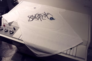 Image of Synaesthesia White Logo Shirts LIMITED EDITION