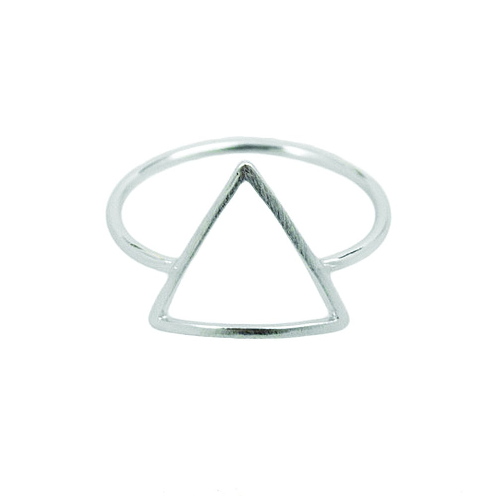 magasin en ligne d6eae 00aa9 Bague triangle - Green