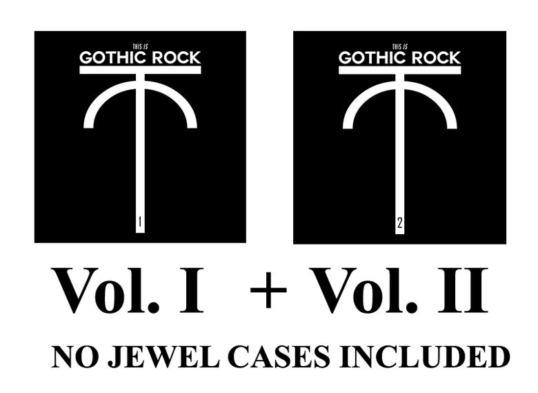 Image of This is Gothic Rock Vol. I AND Vol.II SPECIAL OFFER (Without Jewel Cases)