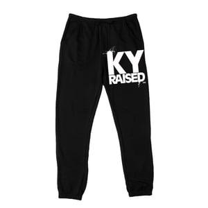 Image of KY Raised Black & White Sweatpants