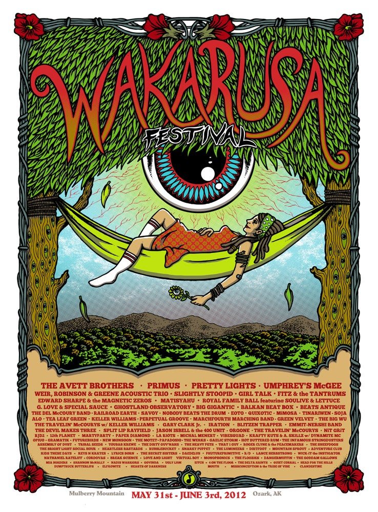 Image of WAKARUSA FESTIVAL - 2012